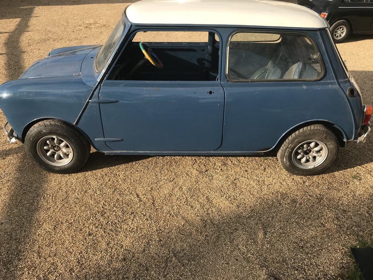 1967 Austin Mini Cooper Mk1 (BARGAIN) SOLD (picture 2 of 6)