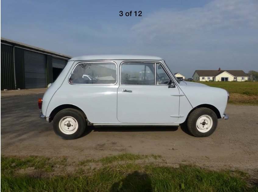 1967 MK1 Mini 1000 SOLD (picture 4 of 6)