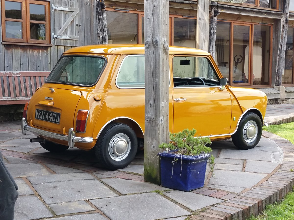 1970 Bronze Yellow Mk 3 Cooper S  SOLD (picture 1 of 6)
