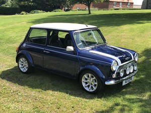 Mini Cooper-1999-Very Low miles/owners Tahiti Blue SOLD