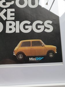 1979 Mini MK4 Advert Original