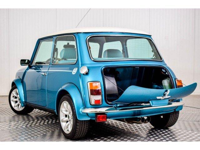 1998 Mini Cooper S 1.3i MPI Hawaiian Blue For Sale (picture 2 of 6)