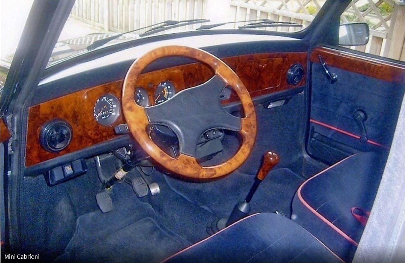 1988 Austin Mini Jet Black Cabrioni For Sale (picture 6 of 6)
