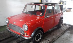 1971 Mini Cooper For Sale by Auction