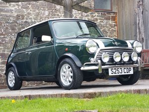 1999 Outstanding Rover Mini Cooper On Just 8950 Miles In 20 Years For Sale