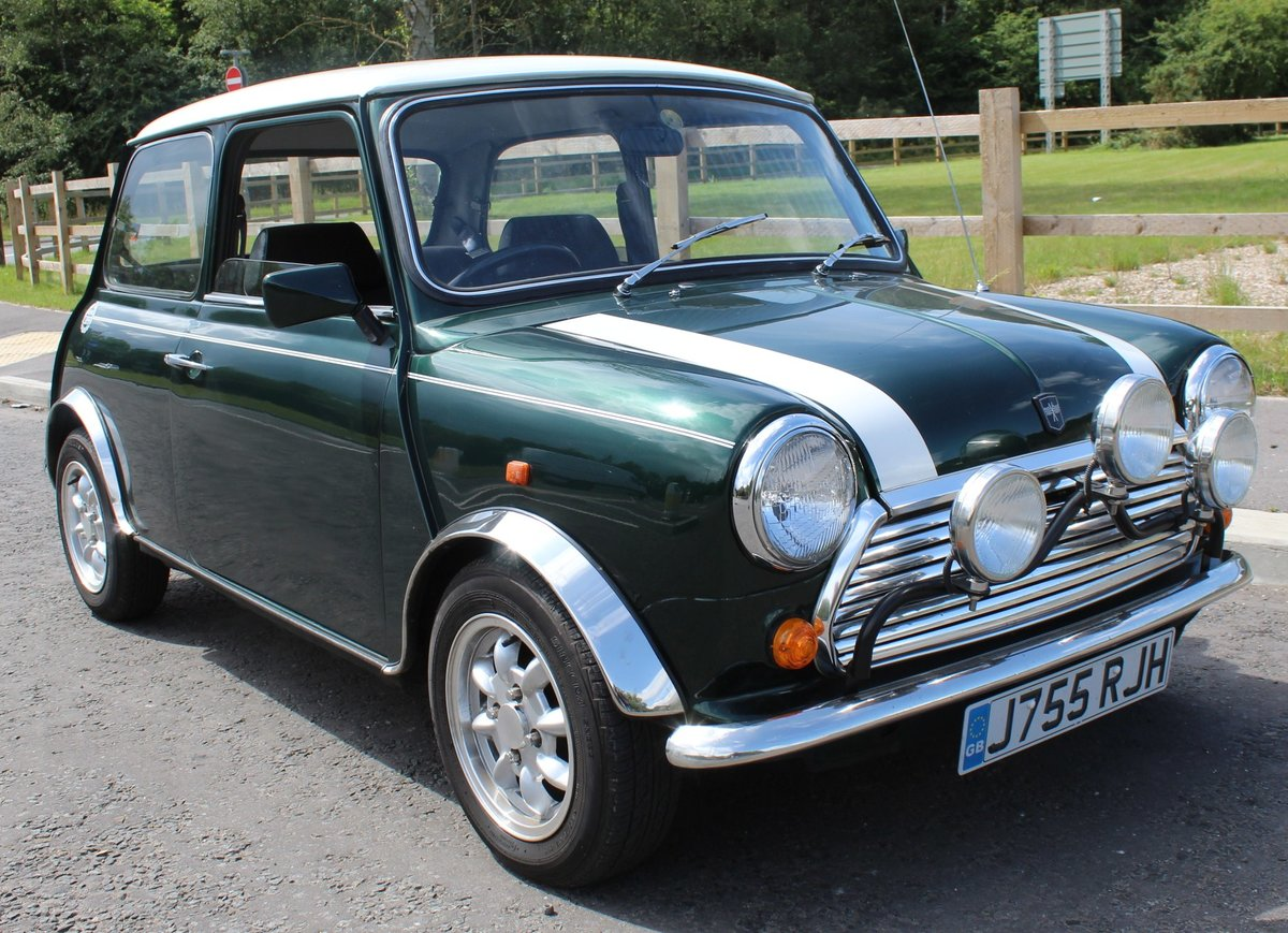1991 Mini Cooper 1275 cc Normally Aspirated 82,000 Miles For Sale (picture 1 of 6)