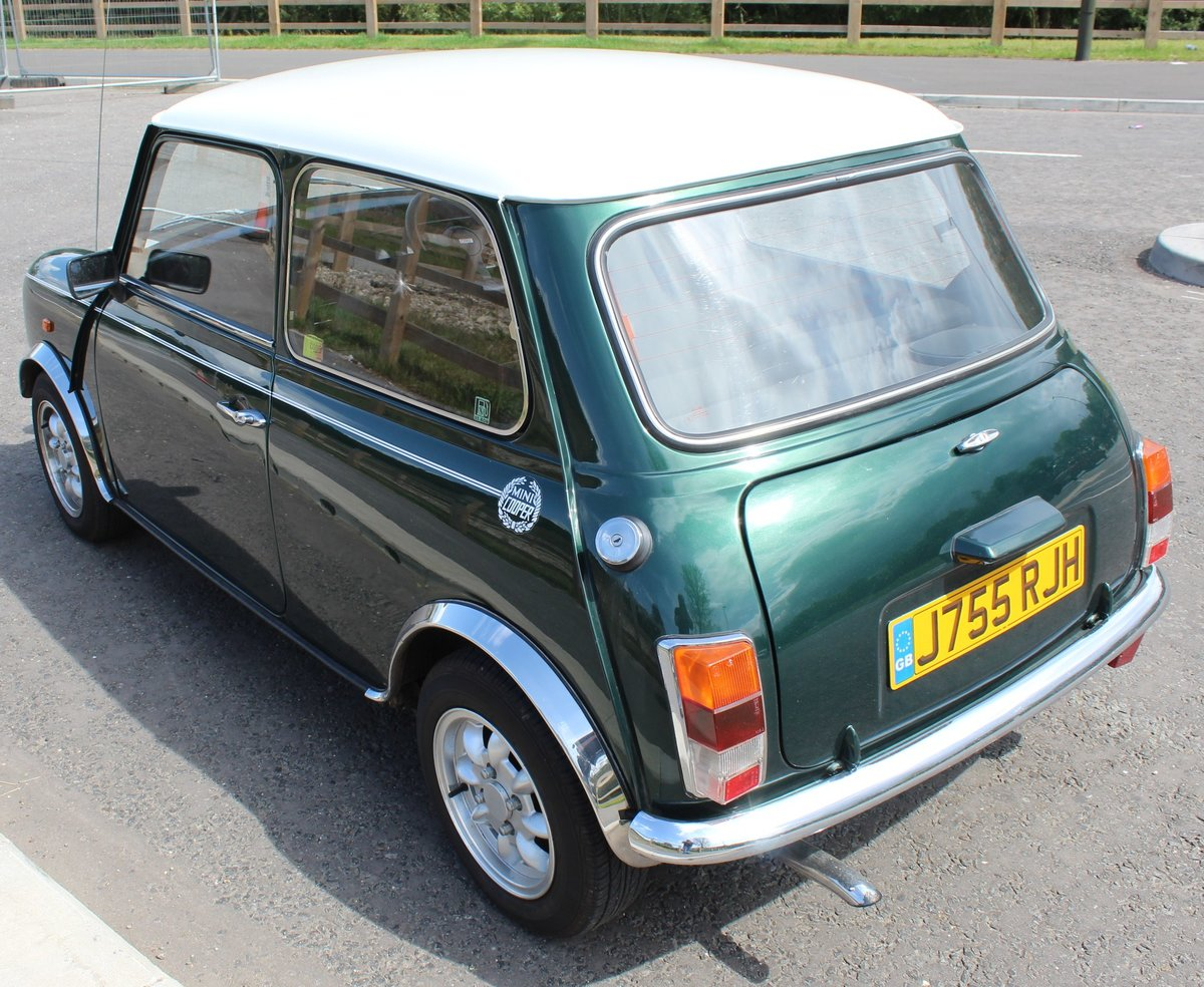 1991 Mini Cooper 1275 cc Normally Aspirated 82,000 Miles For Sale (picture 4 of 6)