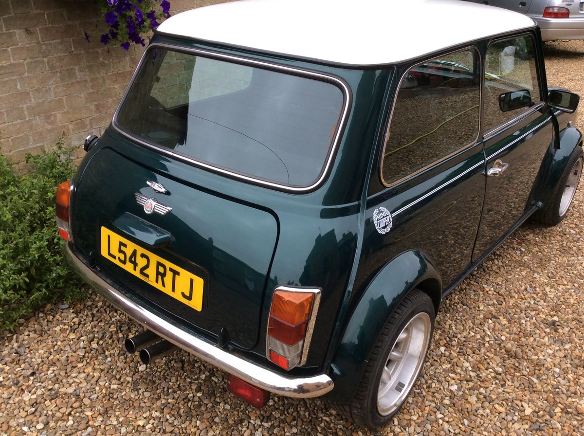 1993 Mini Cooper 1275 sportspack kit, large history SOLD (picture 4 of 5)