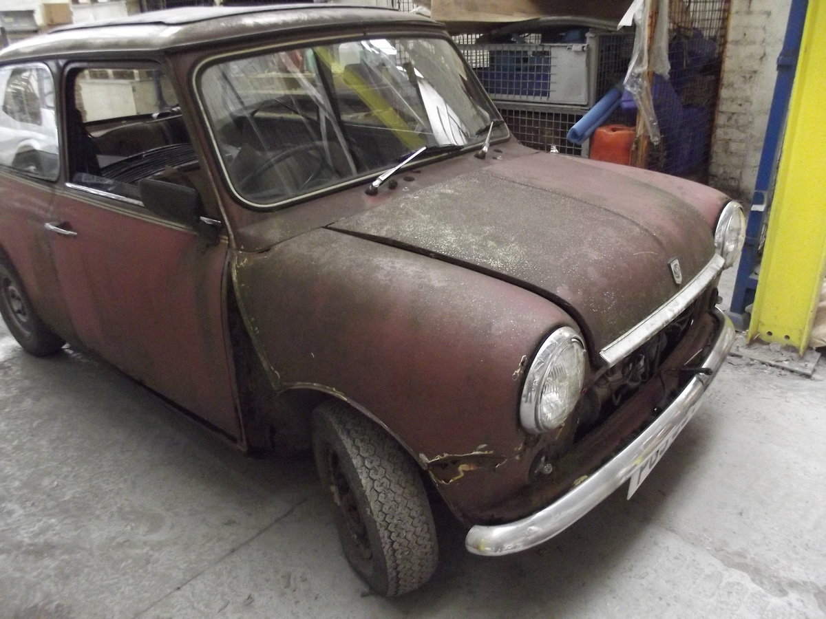 1980 Mini automatic restoration project Classic  For Sale (picture 1 of 6)
