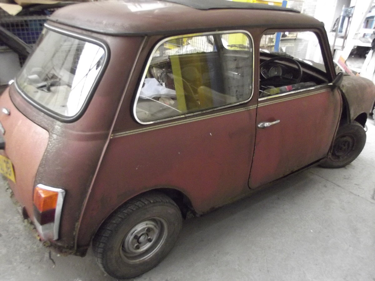 1980 Mini automatic restoration project Classic  For Sale (picture 2 of 6)