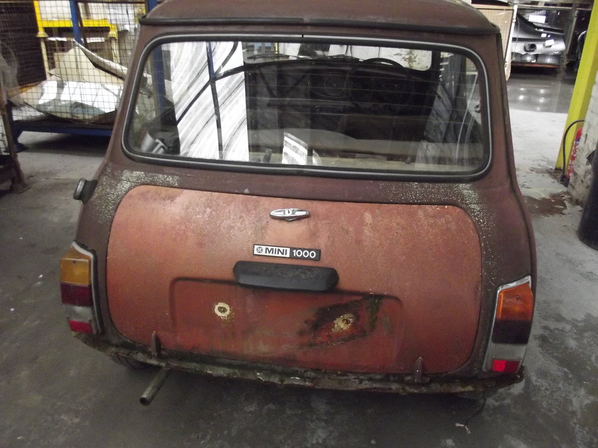1980 Mini automatic restoration project Classic  For Sale (picture 5 of 6)