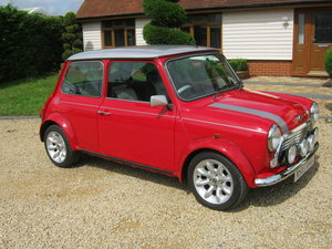 2000 ROVER MINI COOPER SPORT. ONLY 36,000 MILES.  SOLAR RED. SOLD