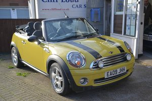 2009 (09) MINI COOPER 1.6 CONVERTIBLE For Sale