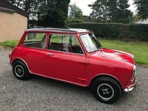 1966 MK1 AUSTIN MINI COOPER RED/BLACK CONCOURS SHOW WINNER For Sale