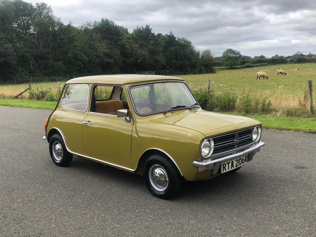 1976 Mini Clubman 1100cc SOLD (picture 3 of 6)