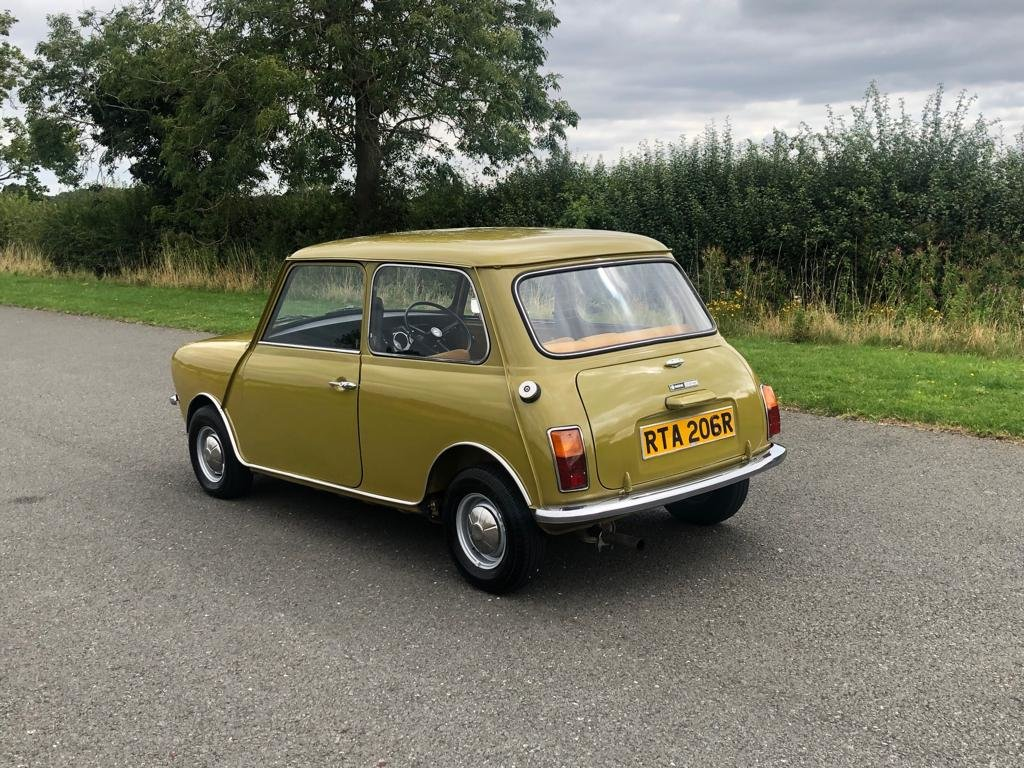 1976 Mini Clubman 1100cc SOLD (picture 4 of 6)