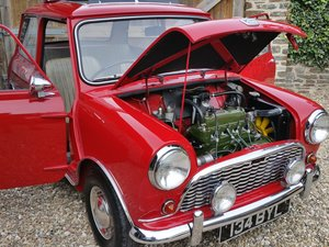 1961 Very Original MK 1 Mini Last Owner 41 Years!! SOLD