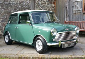 1990 Fantastic Mini Cooper With 70's Cooper S Styling. SOLD