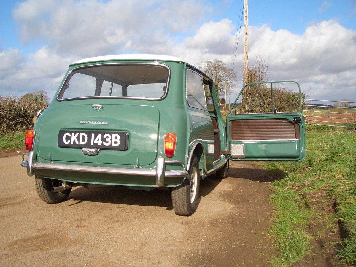 1964 Morris Mini Super De-Luxe SOLD (picture 6 of 6)