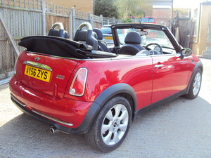 2006 Mini One 1.6 Convertible – Nice Spec – With MOT