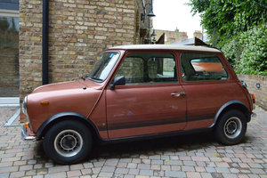 1979 Mini 1100 Special 12 Sep 2019 For Sale by Auction
