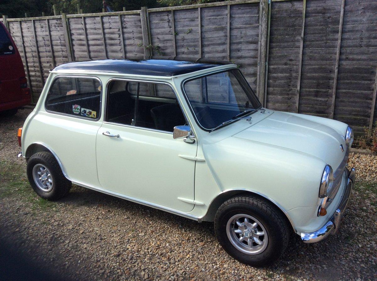1969 Austin Mini Cooper mk2 For Sale (picture 1 of 6)