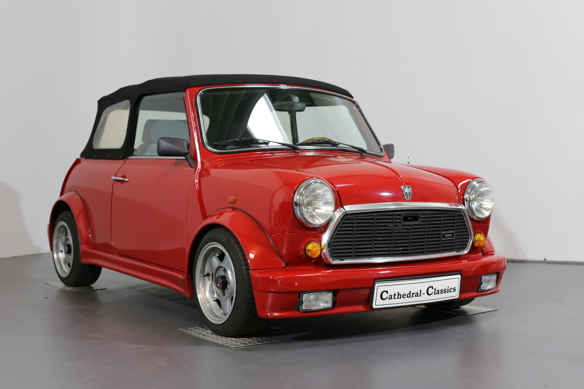 1991 A cute, low mileage Lamm Mini Cabrio – Last owner 26 years SOLD (picture 3 of 6)