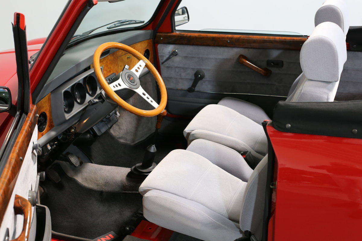1991 A cute, low mileage Lamm Mini Cabrio – Last owner 26 years SOLD (picture 4 of 6)