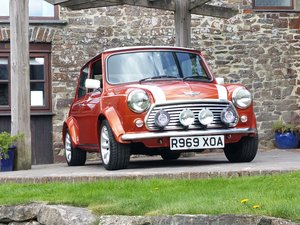 1998 Very Rare and Immaculate Volcano Orange Mini Cooper SOLD