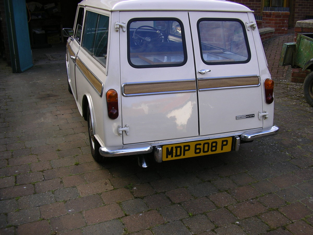 1976 SOLD Mini Clubman Estate-Very Good Condition SOLD SOLD (picture 6 of 6)