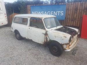 1968 Morris mini van for full restoration