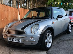 2003 Mini Cooper 1.6 - 2 Lady Owners - Panoramic Roof