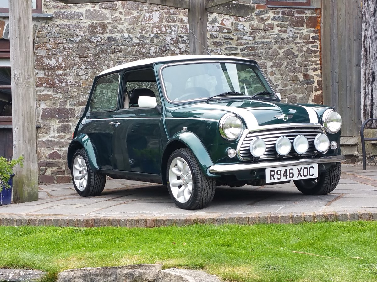 1998 Immaculate Mini Cooper On Just 21700 Miles From New!! SOLD (picture 1 of 10)