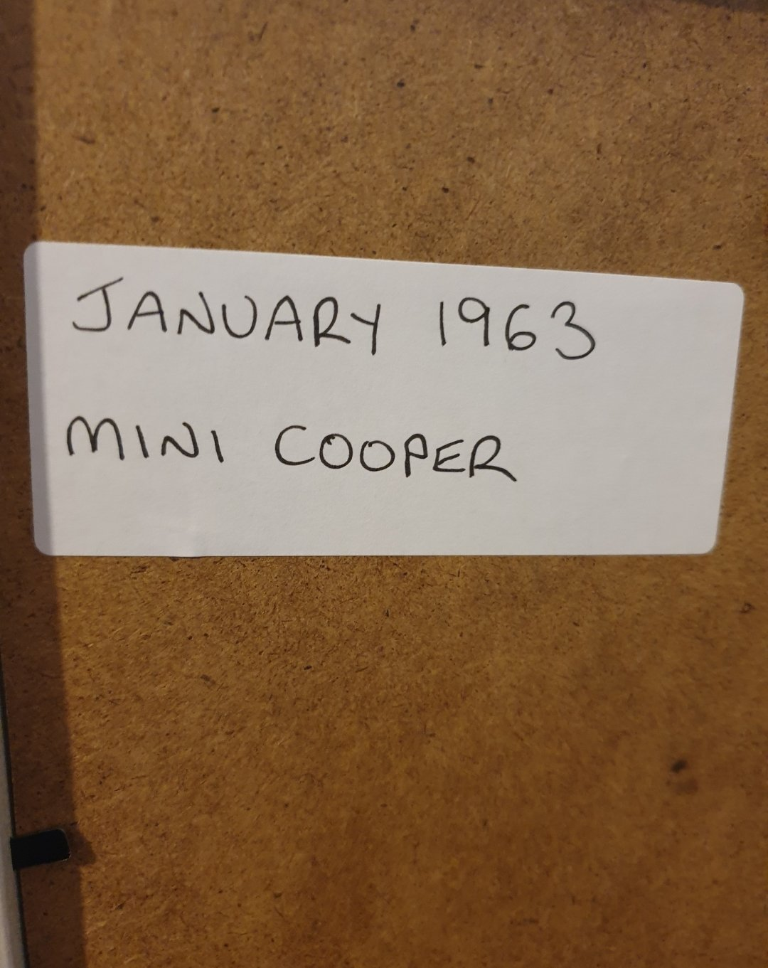 1963 Mini Cooper Advert Original  For Sale (picture 2 of 2)