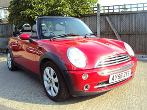 2006 Mini One 1.6 Convertible – Nice Spec – With MOT & History For Sale
