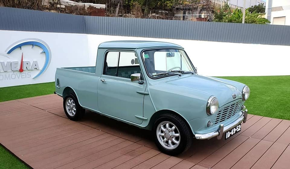 1967 Austin Mini Pickup MK1 For Sale (picture 1 of 6)