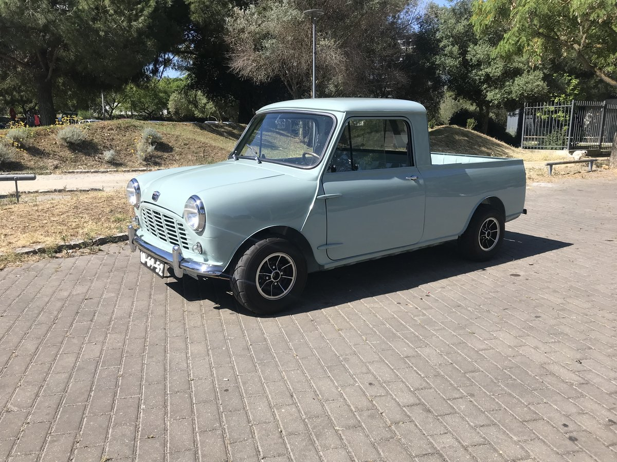 1967 Austin Mini Pickup MK1 For Sale (picture 6 of 6)