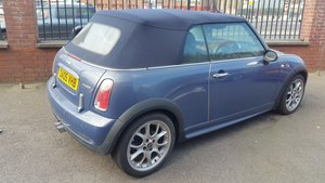 2005 Mini cooper s convertible For Sale
