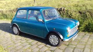 1995 Kingfisher Blue Mini Sidewalk 42000 Miles.