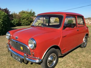 1964 Austin mini super de luxe 850cc