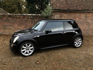 2003 MINI Cooper S JCW full spec. Future classic.