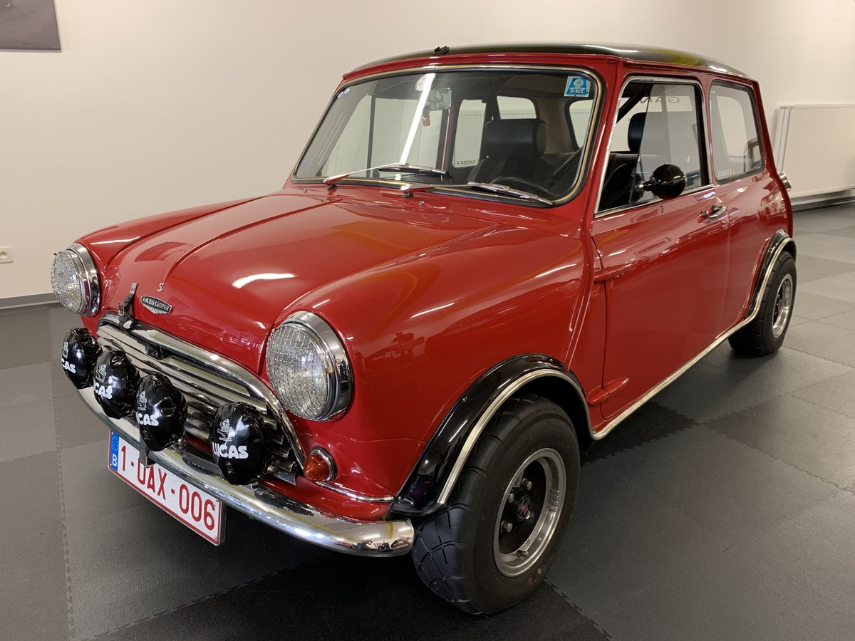 1967 Mini Morris Cooper S Rally For Sale (picture 1 of 6)