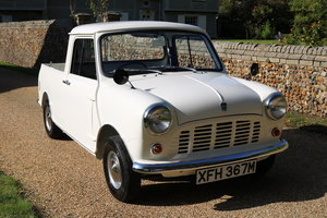 1974 Austin Mini Pickup (Amazing Restored Condition)