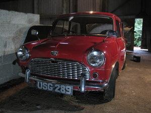 1959 Austin Seven Mini De-Luxe Barn Find For Sale