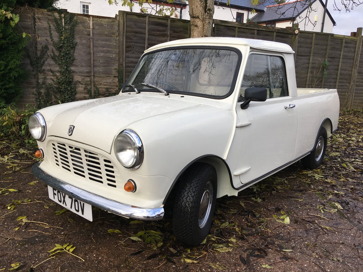 1980 Mini 850cc Pickup Restored in 2019 For Sale (picture 1 of 6)