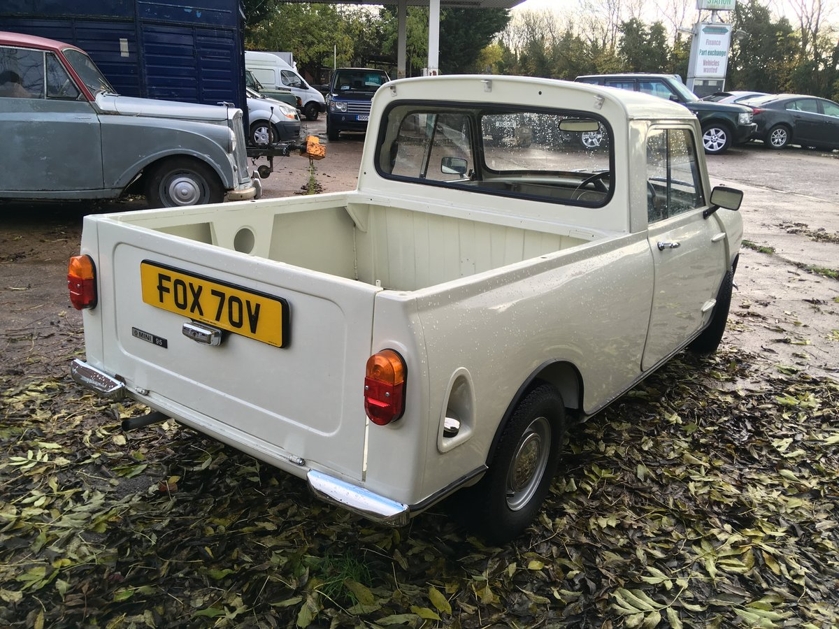 1980 Mini 850cc Pickup Restored in 2019 For Sale (picture 3 of 6)