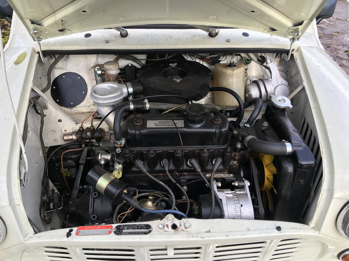 1980 Mini 850cc Pickup Restored in 2019 For Sale (picture 6 of 6)