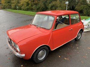 **DECEMBER AUCTION** 1976 Mini Clubman SOLD by Auction