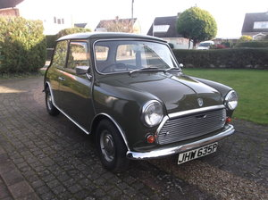 1975 Morris Mini 1000 TIME WARP Low Mileage