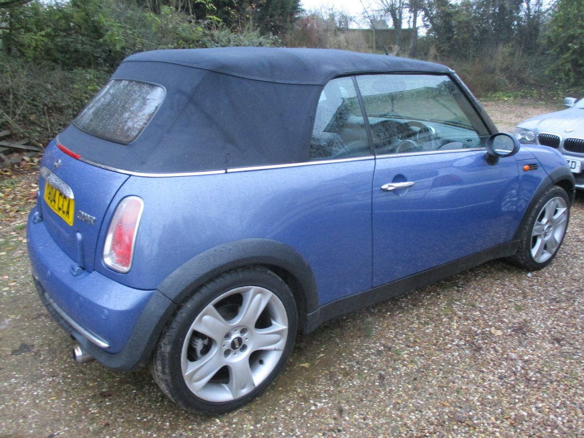 2004 SOUND DRIVER THIS COVERTBLE MINI  ROOF WORKING WELL MAY MOT For Sale (picture 2 of 6)
